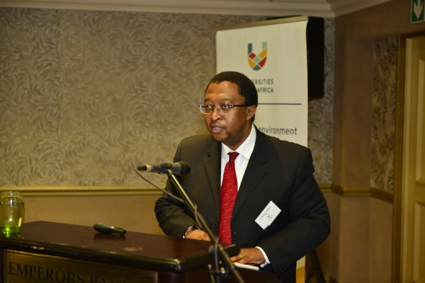 Dr Molapo Qhobela, Chief Executive Officer at the National Research Foundation